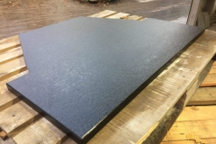 Basalt Hearth Cut to Order