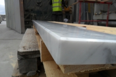 Carrara Marble Edging Detail
