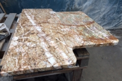 St Laurent Marble T Shaped Hearth
